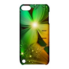 Flowers Petals Colorful  Apple Ipod Touch 5 Hardshell Case With Stand
