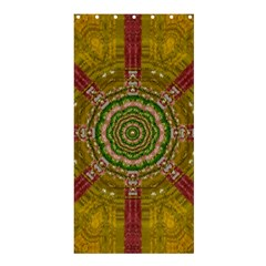 Mandala In Metal And Pearls Shower Curtain 36  X 72  (stall)