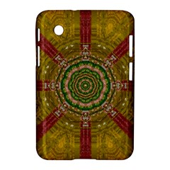 Mandala In Metal And Pearls Samsung Galaxy Tab 2 (7 ) P3100 Hardshell Case