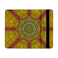 Mandala In Metal And Pearls Samsung Galaxy Tab Pro 8 4  Flip Case