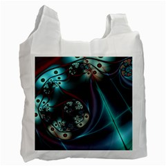 Rotation Patterns Lines  Recycle Bag (two Side)