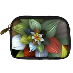 Flower Background Colorful Digital Camera Cases