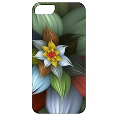 Flower Background Colorful Apple Iphone 5 Classic Hardshell Case