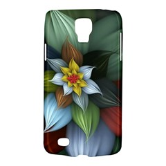 Flower Background Colorful Galaxy S4 Active