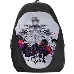 Figure Circle Triangle Backpack Bag