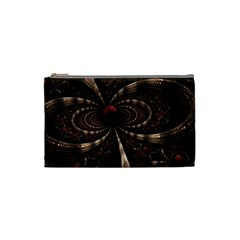 Circles Spheres Lines  Cosmetic Bag (small)