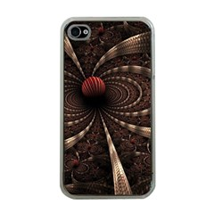 Circles Spheres Lines  Apple Iphone 4 Case (clear)