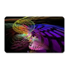Fractal Patterns Background  Magnet (rectangular)