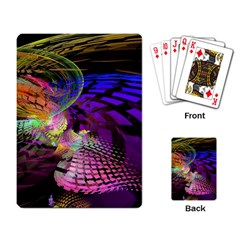 Fractal Patterns Background  Playing Card