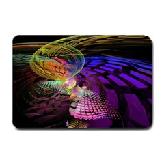 Fractal Patterns Background  Small Doormat