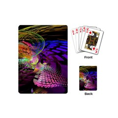 Fractal Patterns Background  Playing Cards (mini)