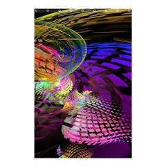 Fractal Patterns Background  Shower Curtain 48  X 72  (small)