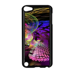 Fractal Patterns Background  Apple Ipod Touch 5 Case (black)