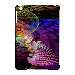 Fractal Patterns Background  Apple Ipad Mini Hardshell Case (compatible With Smart Cover)