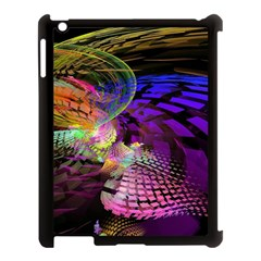 Fractal Patterns Background  Apple Ipad 3/4 Case (black)