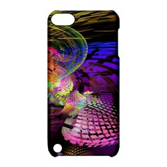 Fractal Patterns Background  Apple Ipod Touch 5 Hardshell Case With Stand