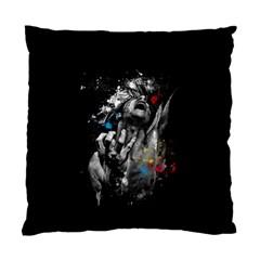 Man Rage Screaming  Standard Cushion Case (two Sides)