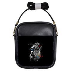 Man Rage Screaming  Girls Sling Bags