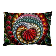 Circles Lines Background  Pillow Case