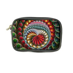 Circles Lines Background  Coin Purse
