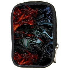 Lines Curves Background  Compact Camera Cases