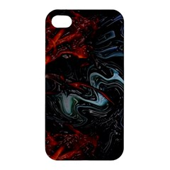 Lines Curves Background  Apple Iphone 4/4s Hardshell Case