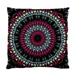 Circles Background Lines  Standard Cushion Case (One Side) Front
