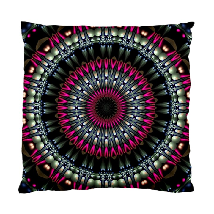 Circles Background Lines  Standard Cushion Case (One Side)