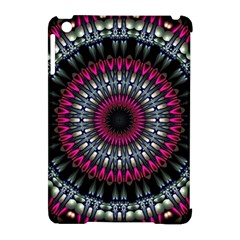 Circles Background Lines  Apple Ipad Mini Hardshell Case (compatible With Smart Cover)