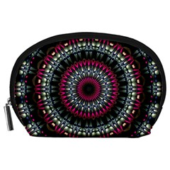 Circles Background Lines  Accessory Pouches (large)