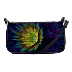 Flower Line Smoke  Shoulder Clutch Bags