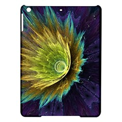 Flower Line Smoke  Ipad Air Hardshell Cases