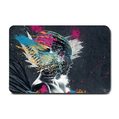 Face Paint Explosion 3840x2400 Small Doormat