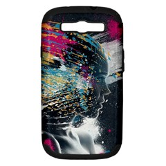 Face Paint Explosion 3840x2400 Samsung Galaxy S Iii Hardshell Case (pc+silicone)