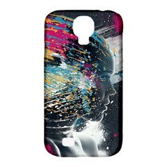 Face Paint Explosion 3840x2400 Samsung Galaxy S4 Classic Hardshell Case (pc+silicone)