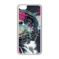 Face Paint Explosion 3840x2400 Apple Iphone 5c Seamless Case (white)