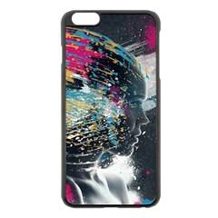 Face Paint Explosion 3840x2400 Apple Iphone 6 Plus/6s Plus Black Enamel Case