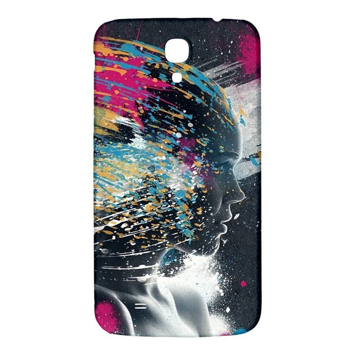 Face Paint Explosion 3840x2400 Samsung Galaxy Mega I9200 Hardshell Back Case