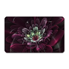 Flower Burst Background  Magnet (rectangular)