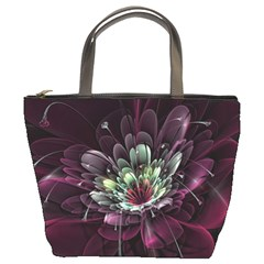 Flower Burst Background  Bucket Bags