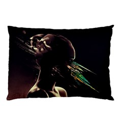 Face Shadow Profile Pillow Case (two Sides)