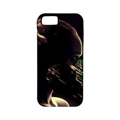 Face Shadow Profile Apple Iphone 5 Classic Hardshell Case (pc+silicone)
