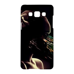 Face Shadow Profile Samsung Galaxy A5 Hardshell Case