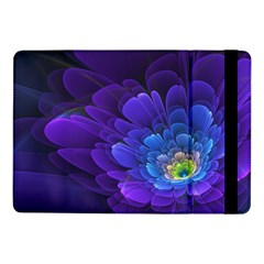 Purple Flower Fractal  Samsung Galaxy Tab Pro 10 1  Flip Case