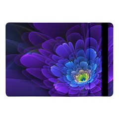 Purple Flower Fractal  Apple Ipad Pro 10 5   Flip Case
