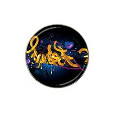 Sign Paint Bright  Hat Clip Ball Marker