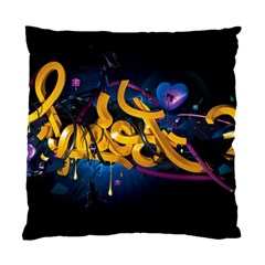 Sign Paint Bright  Standard Cushion Case (two Sides)