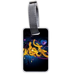 Sign Paint Bright  Luggage Tags (one Side)