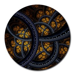 Circles Background Spots  Round Mousepads