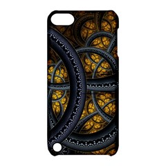 Circles Background Spots  Apple Ipod Touch 5 Hardshell Case With Stand